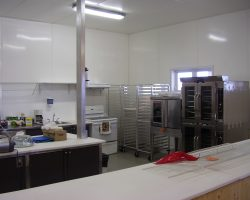 Mur et plafond cuisine HDPE
